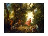 Swing, 1730S Giclee Print by Nicolas Lancret