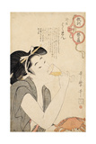 From the Series a Parent's Moralising Spectacles, 1802 Giclee Print by Kitagawa Utamaro
