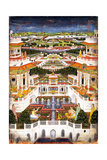 A Palace Complex with Harem Gardens, Ca 1764-1765 Giclee Print