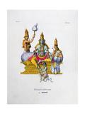 Ramavataram, 1828 Giclee Print by  Marlet et Cie