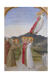 The Mystical Marriage of St. Francis of Assisi, 1444 Giclée-tryk af Sassetta,