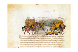 Miniature from the Madrid Skylitzes, 11th-12th Century Giclee Print