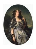 Portrait of Princess Sophia Radziwill, 1864 Giclee Print by Franz Xavier Winterhalter