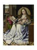 The Virgin and Child before a Firescreen, C. 1440 Giclee Print by Robert Campin