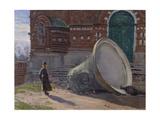 The Ruination of Church Bells, 1924 Giclee Print by Evgeni Ivanovich Stolitsa