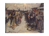 The Foreigners in Muscovy, 1903 Giclee Print by Konstantin Alexandrovich Veshchilov