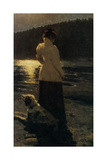 Moonlit Night, 1896 Giclee Print by Ilya Yefimovich Repin