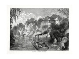 Loading a Cotton Steamer, 1877 Giclee Print