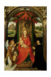 Small Triptych of St. John the Baptist, C. 1490 Giclee Print by Hans Memling