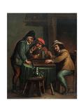 Backgammon Players Giclee Print