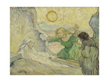 The Raising of Lazarus (After Rembrand), 1890 Giclee Print by Vincent van Gogh