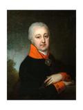 Portrait of Nikolai Mikhailovich Yakovlev, 1802 Giclee Print by Vladimir Lukich Borovikovsky