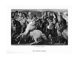 The Canterbury Pilgrims, 19th Century Giclee Print by Thomas Stothard