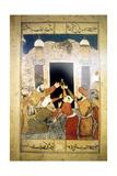 Pilgrims at Mecca Wydruk giclee