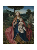 The Virgin and Child in a Landscape, Early16th C Giclee Print by Jan Provost