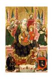Virgin of Mosén Esperandeu De Santa Fe, 1439 Giclee Print by  Blasco de Grañén