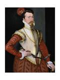 Robert Dudley, 1st Earl of Leicester (1532-158), 1560s Giclee Print by Steven van der Meulen