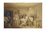 The Consequences of Fidelka's Death, 1844 Giclee Print by Pavel Andreyevich Fedotov