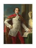 Portrait of Richard Milles of Nackington, 1760S Giclee Print by Pompeo Girolamo Batoni