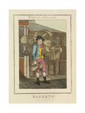 Baskets!, Cries of London, 1804 Giclee Print by William Marshall Craig