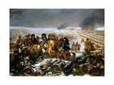 Napoleon on the Battlefield of Eylau, 1807 Giclee Print by Antoine-Jean Gros