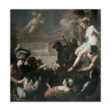 Clorinda Rescues Olindo and Sophronia, 1645 Giclee Print by Mattia Preti