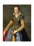 Portrait of Maria De' Medici, Ca 1555 Giclee Print by Alessandro Allori