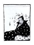 Composer Alexander Glazunov (1865-193), 1915 Giclee Print by Viktor Nikolaevich Deni