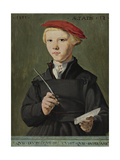 Portrait of a Young Scholar, 1531 Giclee Print by Jan van Scorel