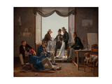 A Group of Danish Giclee Print by Constantin Hansen