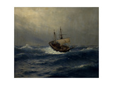 Storm on the Sea, 1887 Giclee Print by Lev Felixovich Lagorio