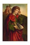 Saint John the Evangelist Weeping, C. 1500 Giclee Print by Colijn de Coter