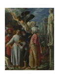 Saint Lawrence Prepared for Martyrdom, Ca 1601 Giclee Print by Adam Elsheimer