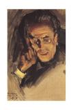 Portrait of Gustav Mahler, 1907 Giclee Print by Akseli Gallen-Kallela