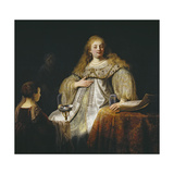 Judith at the Banquet of Holofernes, 1634 Giclee Print