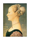 Portrait of a Woman, Second Half of the 15th C Giclee Print by Piero del Pollaiuolo