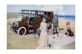 Poster Advertising Daimler Cars, 1907 Giclee Print