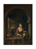 Maid at the Window, C. 1660 Giclee Print by Gerard Dou