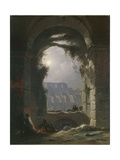 The Colosseum in the Night, Early 1830S Giclee Print