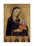 Virgin and Child, C. 1324-1325 Giclee Print by Simone Di Martini