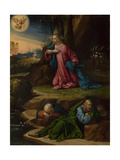 The Agony in the Garden, Between 1520 and 1539 Giclee Print by Benvenuto Tisi Da Garofalo