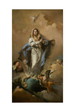 The Immaculate Conception of the Virgin, 1767-1768 Giclee Print by Giambattista Tiepolo