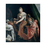 Judith with the Head of Holofernes, C. 1580 Giclee Print