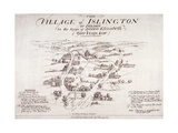 Islington, London, C1860 Giclee Print