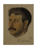 Portrait of Joseph Stalin (1879-195), 1922 Giclee Print by Nikolai Andreevich Andreev