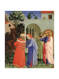 The Apostle Saint James the Greater Freeing the Magician Hermogenes Giclee Print by  Fra Angelico