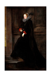 Portrait of Marchesa Geronima Spinola, Ca 1624 Giclee Print by Anthonis van Dyck
