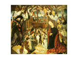 The Adoration of the Shepherds, C. 1500 Giclee Print by Aelbrecht Bouts