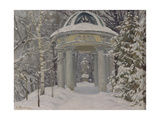 Gazebo at the Naydenov Estate, 1923 Giclee Print by Evgeni Ivanovich Stolitsa