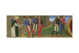 Legend of Saints Justus and Clement of Volterra, Ca 1479 Giclée-tryk af Domenico Ghirlandaio